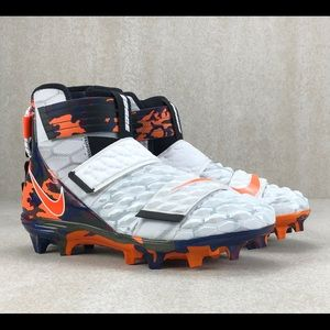 Nike Force Savage Elite Football Cleats Camo White